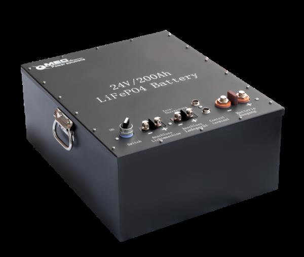 MEC Lithium-ions Battery Pack (LiFePO4) 24V/200Ah
