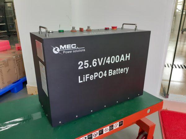 MEC 24V400Ah LiFePO4 Battery Packs