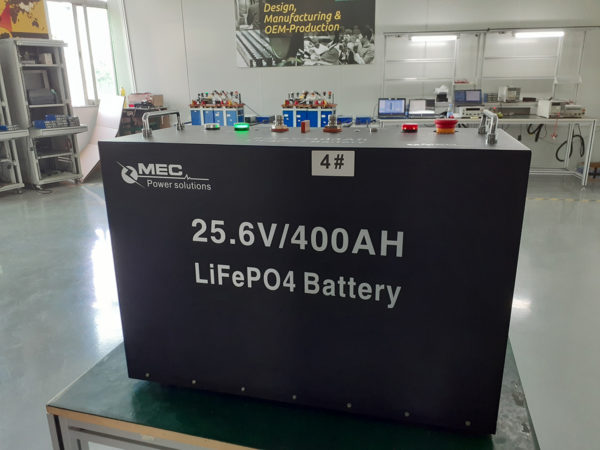 MEC Lithium-ions Battery Pack (LiFePO4) 24V400Ah