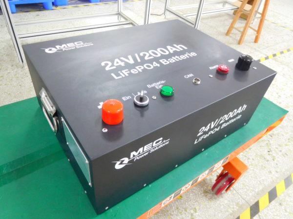 MEC 24V200Ah LiFePO4 Battery Packs
