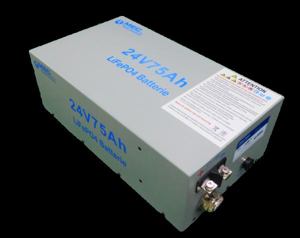 MEC LiFePO4 Battery Pack 24V/75Ah